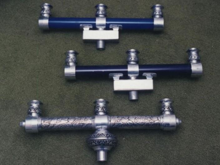 2001 Aluminio y acrílico x 60cm otra opción es en bronce color del acrílico a elección