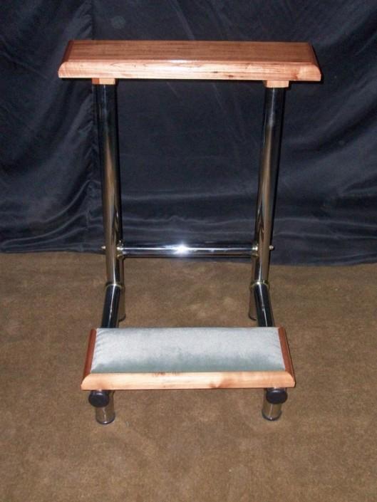 22036 - Reclinatorio acero y madera