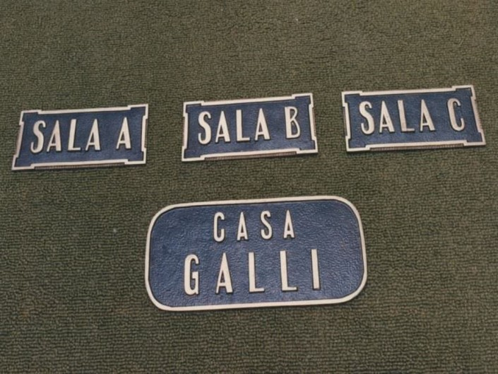 Placas Distintivas Salas Velatorias