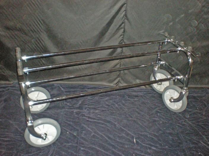 15003 Carro tradicional reforzado rueda 240mm horquilla de aluminio