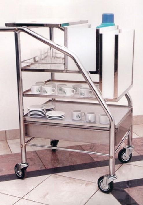 15011 Carro buffet cromado