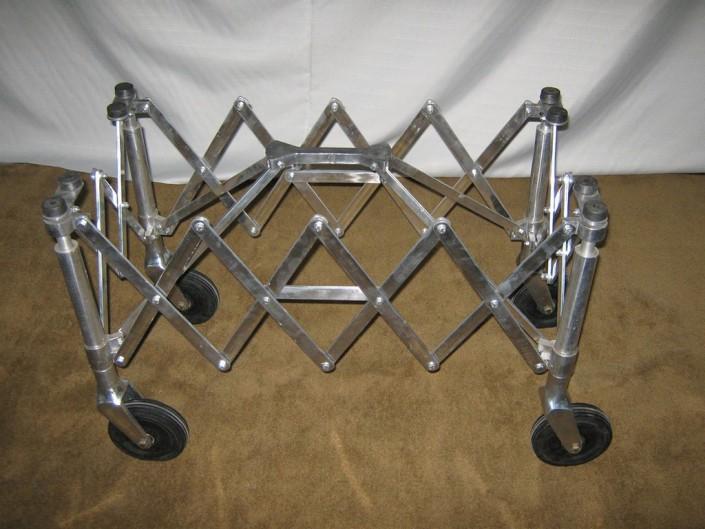 15015 Carro fuelle aluminio